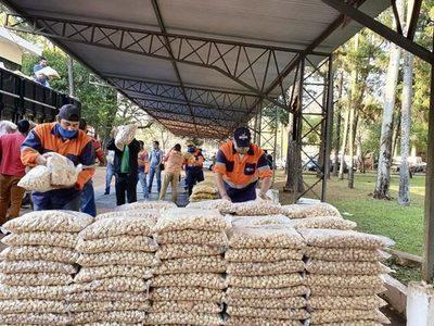 SEN distribuyó más de 46.600 kilos de alimentos a trabajadores de Ciudad del Este