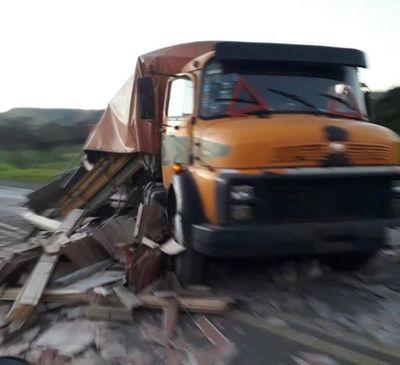 Muere arrollado por un camión en Pedro Juan Caballero