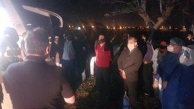 Repatriados de Argentina cumplen cuarentena en Pilar