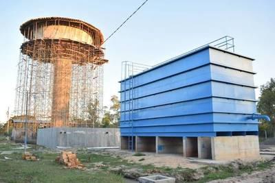 Villa Florida contará en breve con moderno sistema de abastecimiento de agua potable
