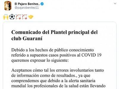 Duro comunicado del plantel de Guaraní
