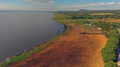 Nivel del Lago Ypacaraí repuntó 15cm