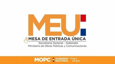 HOY / MOPC habilita correos electrónicos para gestión de trámites y documentaciones