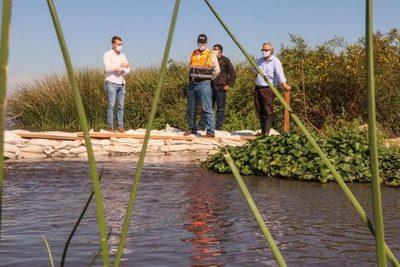 Reportan 15 cm de aumento del nivel de agua en el Lago Ypacaraí