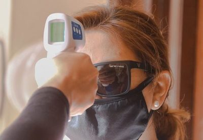 La frente es el área para una toma correcta de la temperatura corporal
