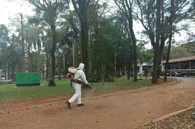 Este martes se realiza desinfección de la Municipalidad de CDE