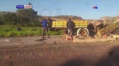 Amambay: Accidente fatal sobre Ruta 05