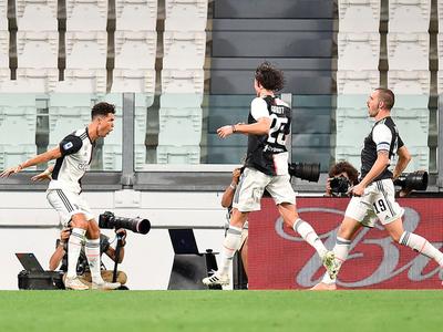 Cristiano acerca más a la Juventus al Scudetto