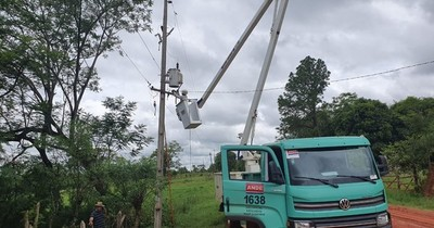 Ande: trabajos de mantenimiento benefician a 15.300 usuarios de Misiones e Itapúa