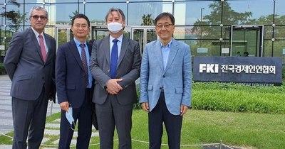 Plantean a empresarios coreanos convertir al Paraguay en polo de producción