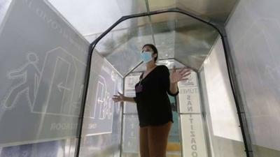 HOY / Investigadores paraguayos evaluarán eficacia de túneles de desinfección usados contra el COVID-19