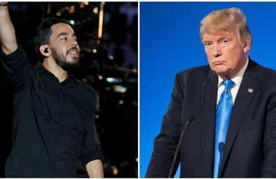 Linkin Park obliga a Trump a bajar un video de su campaña por utilizar una de sus canciones