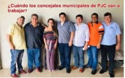 Consideran a los 7 concejales como plagas de la ciudad de Pedro Juan Caballero