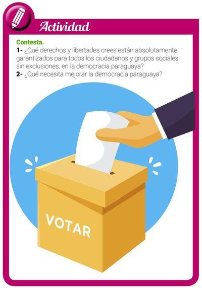 La democracia como forma de gobierno de la República del Paraguay