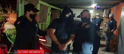 Cae presunto apoyo logístico de sicarios en Coronel Oviedo