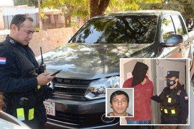 Ladrón se hizo pasar de cliente para robar una  camioneta, pero fue detenido tras persecución – Diario TNPRESS