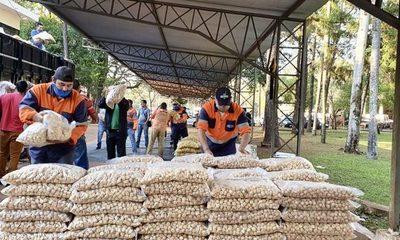 SEN distribuyó más de 46.600 kilos de alimentos a trabajadores de C. del Este – Diario TNPRESS