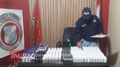 MILLONARIO DECOMISO DE SUPLEMENTOS VITAMÍNICOS CUYO DESTINO ERA ARGENTINA