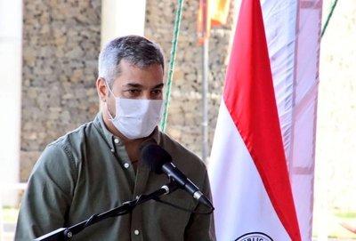 """""""Que se plagueen solos"""", así responde Abdo a quienes critican su gobierno"""