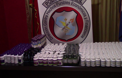 Incautaron más de 300 frascos de suplementos vitamínicos en Itapúa