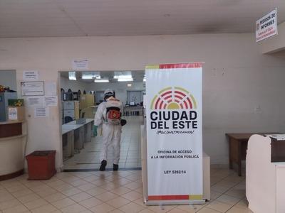 Funcionarios municipales se someten a prueba del Covid-19