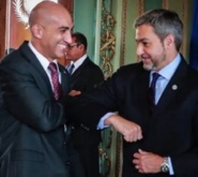 "Mario Abdo: ""Que sigan criticando"""
