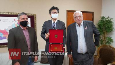 CÓNSUL DE JAPÓN SE DESPIDIÓ DEL DEPARTAMENTO DE ITAPÚA