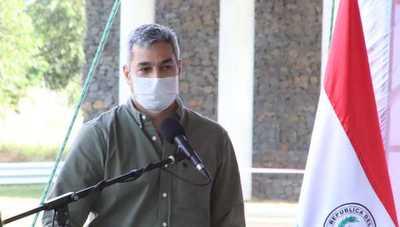 Abdo pide aprobación de créditos para sacar adelante al país y destaca obras de Gobierno