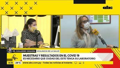 COVID-19: el 50% de los test diarios se hacen en Alto Paraná
