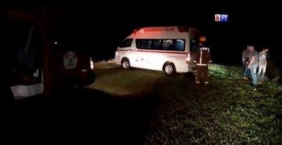Familia se salva de milagro tras violento accidente de tránsito
