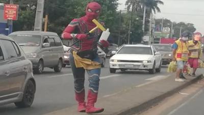 De Hombre Araña a limpiaparabrisas