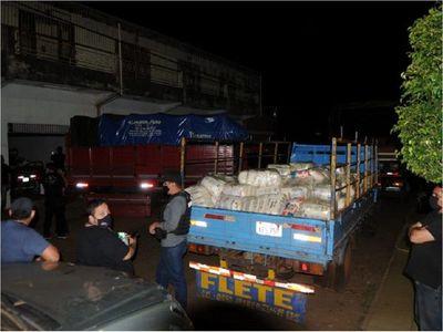 Fiscalía incauta cerca de 25 toneladas de azúcar de contrabando en CDE
