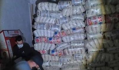 HOY / Incautan alrededor de 25 toneladas de azúcar de contrabando en CDE