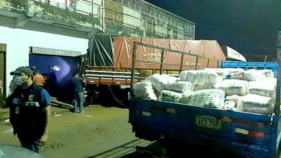 Requisa de 20.000 kilos de azúcar evidencia afluencia del contrabando en Ciudad del Este