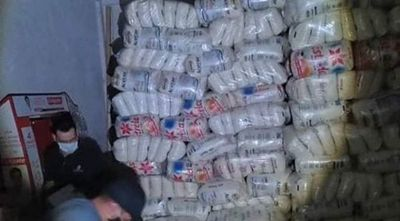 Incautan alrededor de 25 toneladas de azúcar de contrabando en CDE