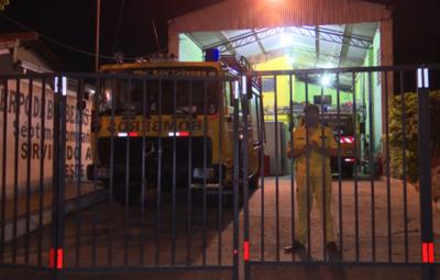 Cuartel de Bomberos de San Lorenzo va a cuarentena por caso de Covid-19