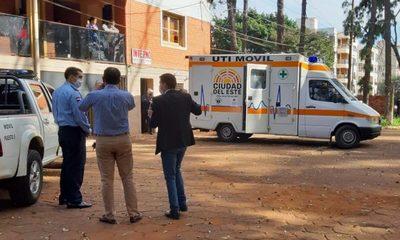Trasladan a Hospital Integrado a detenido con síntomas respiratorios
