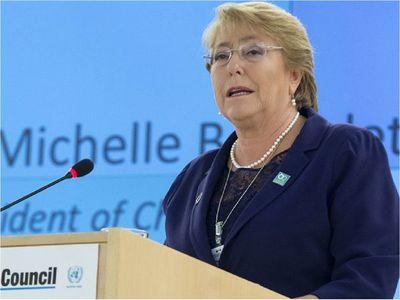 Bachelet reconoce esfuerzos de Paraguay en lucha contra Covid-19