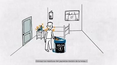 ¿Cómo eliminar los residuos en hogares con casos confirmados de COVID-19?