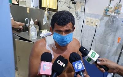 Hombre herido durante persecución policial cambió de versión, según fiscal