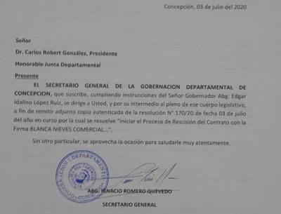 Gobernación rescindirá contrato con «Blancanieves»