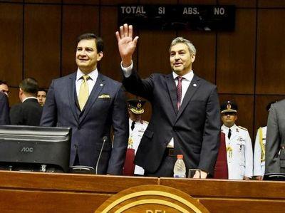 """""""Estoy seguro que Mario Abdo quedará en la historia del Paraguay como un gran gobernante"""", según Ovelar"""