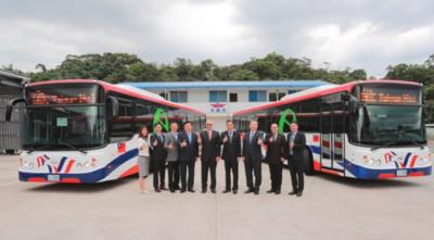 Probarán eficacia de buses eléctricos que donará Taiwán