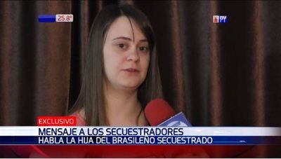Secuestro Tava'i: Hija de empresario pide que se colabore con información