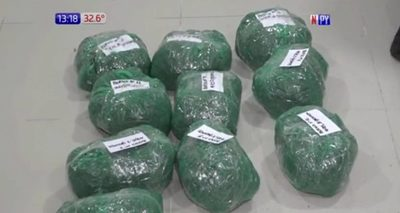 Decomisan 5 kilos de marihuana tras intensa persecución