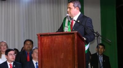 """""""Muchas veces el Partido es el poder y es la oposición a la vez, eso desgasta"""", afirma gobernador de Presidente Hayes"""