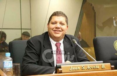 Diputado Juancho Acosta designado como miembro del Jurado de Enjuiciamiento de  Magistrados