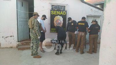 Senad detiene a microtraficante con cocaína  en Pedro Juan