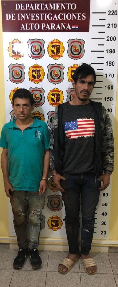 Atrapan a dos peligrosos motochorros que acababan de asaltar a un transeúnte