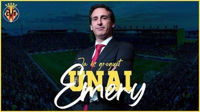 Unai Emery firma con el Villarreal